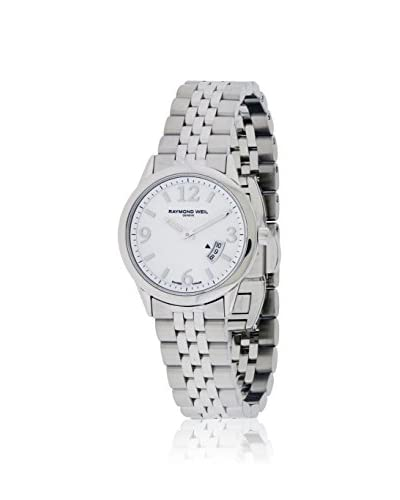 Raymond Weil Women's Freelancer 5670-St-05907 Mother-of-Pearl Stainless Steel Watch