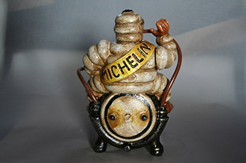 Cast Iron Michelin Man Vintage Style Advertising Michelin Tyres Figure Ideal For Desk Garage Workshop Home