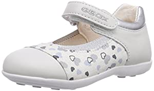 Geox B JODIE A - Zapatos primeros pasos de lona para niña en BebeHogar.com