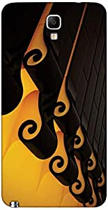 Timpax protective Armor Hard Bumper Back Case Cover. Multicolor printed on 3 Dimensional case with latest & finest graphic design art. Compatible with only Samsung Galaxy Note 3 Neo / N750. Design No :TDZ-20283
