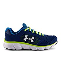 Under Armour Kids Boy\'s UA BGS Assert V (Big Kid) American Blue/Snorkel/White Sneaker 6.5 Big Kid M