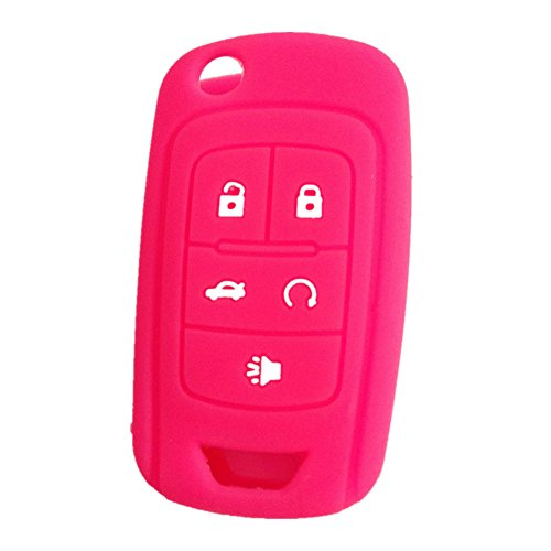 new-peachblow-5-buttons-silicone-cover-holder-key-jacket-for-chevrolet-camaro-cruze-volt-equinox-spa