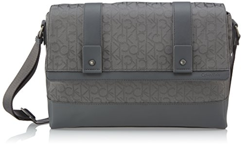 Calvin Klein Jeans Borsa Messenger J5EJ500347 Grigio