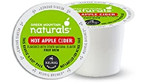 Green Mountain Naturals Hot Apple Cider,  K-Cup Portion Pack for Keurig K-Cup Brewers, 24-Count