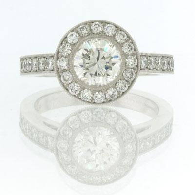 1.95ct Round Brilliant Cut Diamond Engagement