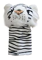 ProActive Sports Zoo Animals Plush White Tiger 460 cc Golf Club Headcover