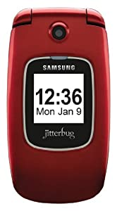 Jitterbug Plus Cell Phone (Red)