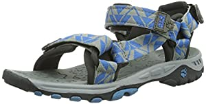 Jack Wolfskin KIDS SEVEN SEAS 4003391-1152360 Unisex-Kinder Sandalen, Blau (brilliant blue), EU 36 (UK 3.5) (US 4.5)