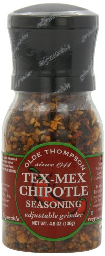 Olde Thompson Tex-Mex Chipotle Seasoning, 4.8-Ounce Grinders (Pack of 2)