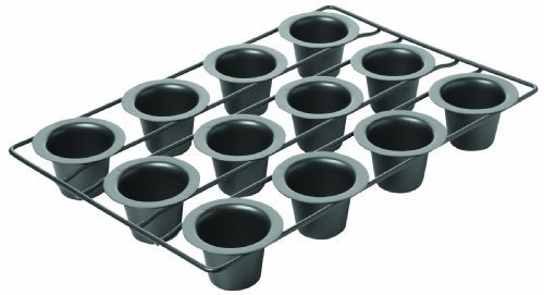 Chicago Metallic Non-Stick 12- Cup Mini Popover Pan