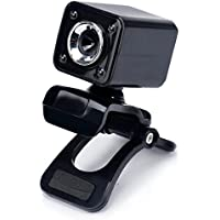 Creazy USB 12 Megapixel HD Camera Web Cam 360 MIC Clip-on For Computer Laptop PC