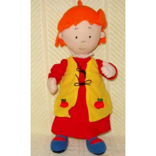 "Amazon.com: CAILLOU 15"" Plush Talking Rosie Doll"