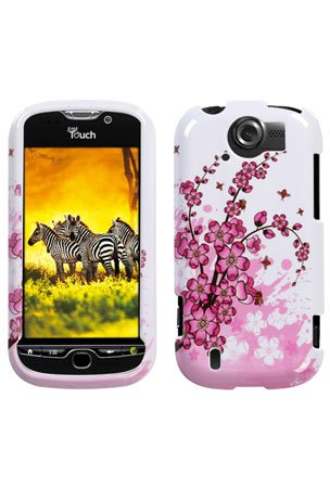HTC T-Mobile myTouch 4G Slide Graphic Case - Spring Flower (Package include a HandHelditems Sketch Stylus Pen)