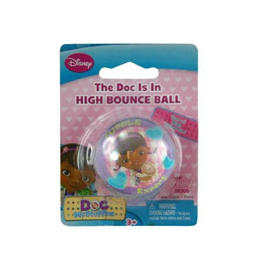 Officially Licensed High Bounce Ball (Doc McStuffins) - 1