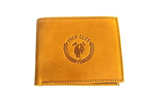 Portafogli uomo Harvey Miller wallet 7329.250 ocra