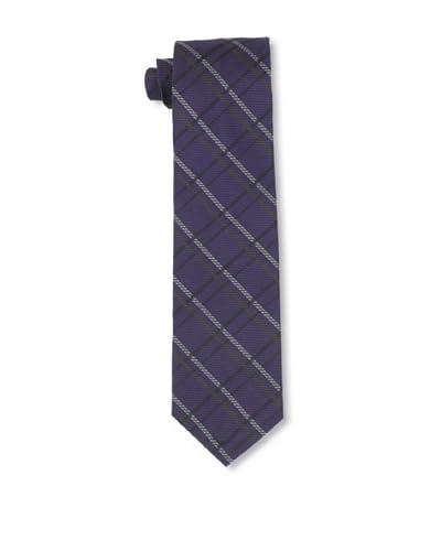 Gitman Blue Men's Criss Cross Striped Tie, Maroon/Purple As You See