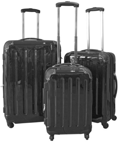 Trolley-Kofferset 3tlg. Ultra-Light - XXL-Volumen