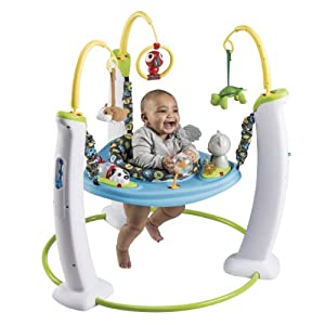 Evenflo ExerSaucer Jump and Learn Jumper Product Review