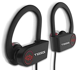 TAGG Inferno, Wireless Bluetooth Headset with Mic || Sweatproof Earphones, Best for Running and Gym || Stereo Sound Quality with Ergonomic-Design