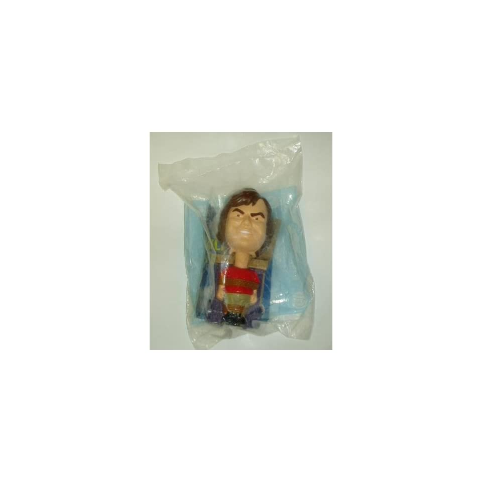 Burger King Kids Meal Roll & Bobble Gullivers Travels Figurine Toy 2010