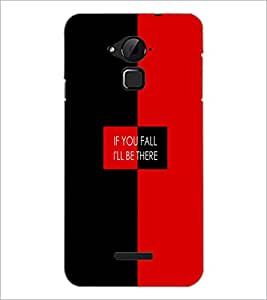PrintDhaba Quote D-4226 Back Case Cover for COOLPAD NOTE 3 LITE (Multi-Coloured)
