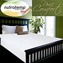 "Big Sale NovaForm Pure Comfort Queen Memory Foam Mattress Support and Longer Lasting Durability 60""W x 80""D x 12""H (320318)"