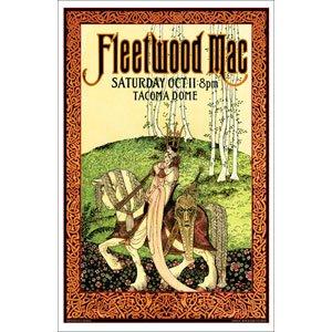Fleetwood Mac - Posters - Limited Concert Promo