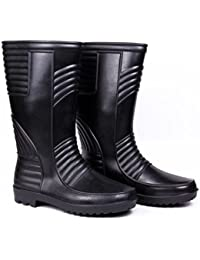 Safety Bazar Safety Shoe, Hillson Safety Gumboot  Welsafe   Black, Size 6 available at Amazon for Rs.315