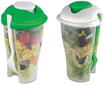 2-Pack Salad To Go Container Sets