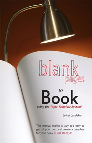 Blank Pages to Book