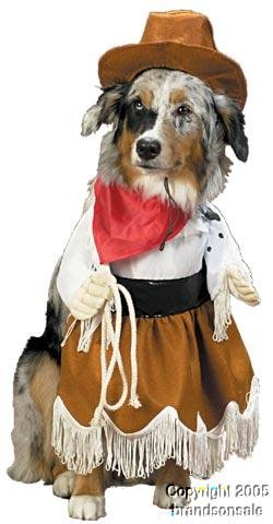 Pet Cowgirl Dog Halloween Costume For X-small