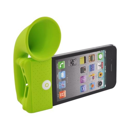 Megaphone Style Speaker for iPhone 4