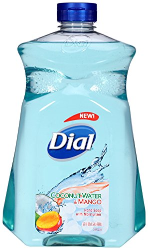 Dial Liquid Hand Soap Refill, Coconut Mango, 52 Ounce (Liquid Hand Soap Dial compare prices)