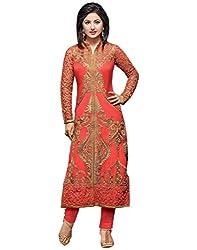 ShayonaWomen's Georgette Unstitched Salwar Suit
