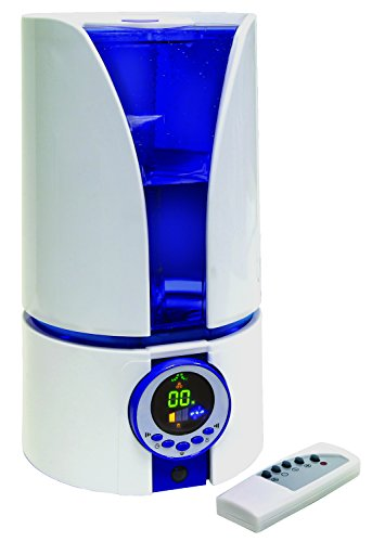 Quiet Ultrasonic Cool Air Mist Filter-Free Humidifier 1.1 Gallon With Remote front-14295