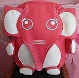 象さん リュック レッドピンク