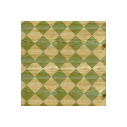 Amazon.com - Wood Diamond Green Brown Contact Paper Adhesive Liner