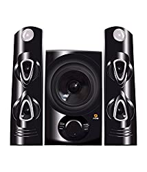 Flow Beat Hi Fi Home Audio Speaker System with Bluetooth