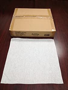 "Premium 12""x12"" Headrest Squares(NO Face Slot), 1000 per box from Clinical Health Services, Inc."