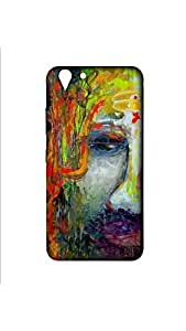 Lord Shiva Painting Designer Mobile Case/Cover For lenovo vibe k5