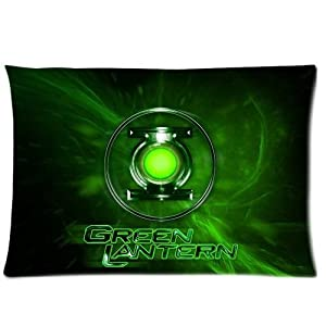 generic green lantern pattern bedding decoration custom