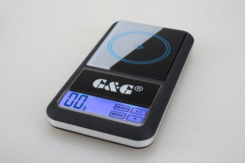 G&G AS Balance numérique de précision 500g/0,01g
