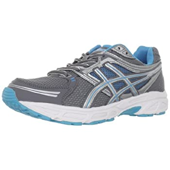 The ASICS GEL-ContendTM low-profile athletic shoe delivers everyday comfort n a lightweight package intended for the entry level runner. This pre-laced women's athletic shoe sports a minimalist-inspired synthetic leather and open mesh upper with refl...