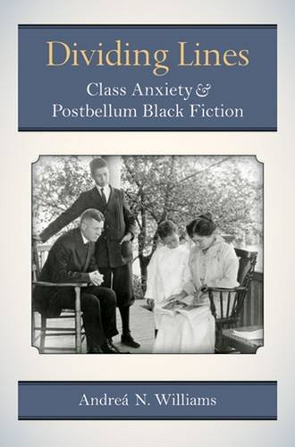 Dividing Lines: Class Anxiety and Postbellum Black Fiction (Class : Culture)