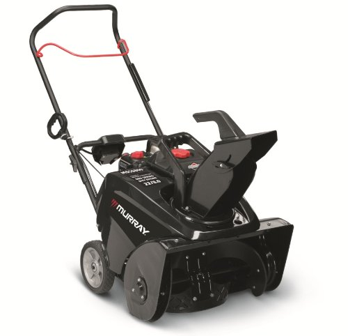 Murray 1695885 800 Snow Series 22-Inch 205cc 4-Cycle OHV Briggs & Stratton Gas Powered Single Stage Snow Thrower With Electric Start
