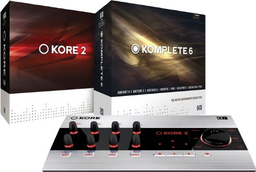 Native Instruments KOMPLETE 6 Software/KORE 2 Hardware Controller Bundle, ¹