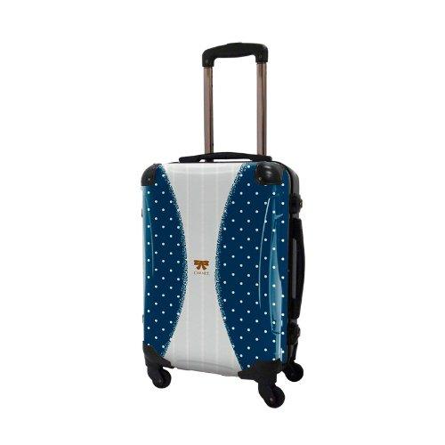 キャラート アートスーツケース プロフィトロール ゆるり2 フレーム4輪 機内持込 (CRA01-010D (濃藍))