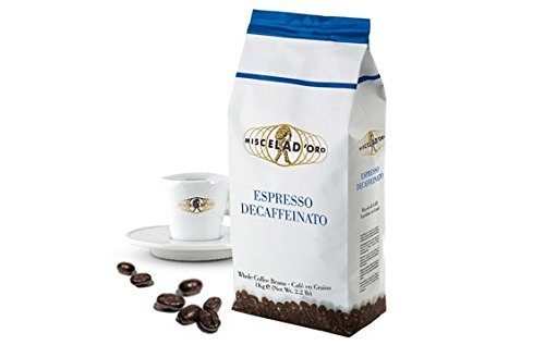 Miscela D'Oro Decaffeinated Espresso Beans - 2.2 lb (Espresso Beans Oro compare prices)
