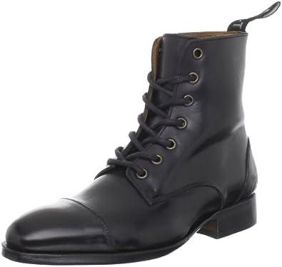 John Fluevog Women's Jaffa Ankle Boot,Black,6 M US