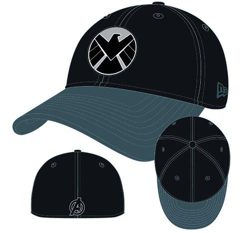 Avengers Shield Logo Dyad Flex Fit Baseball Cap custom design blank spandex cotton flex fit baseball cap customized cap
